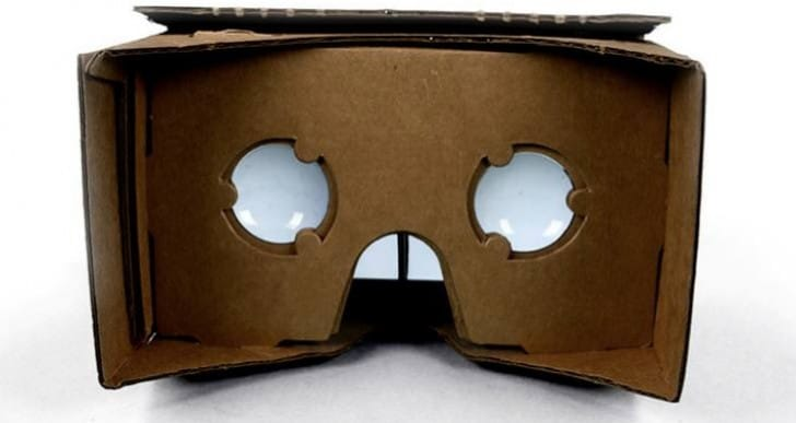 Google Cardboard Android app and DIY kit