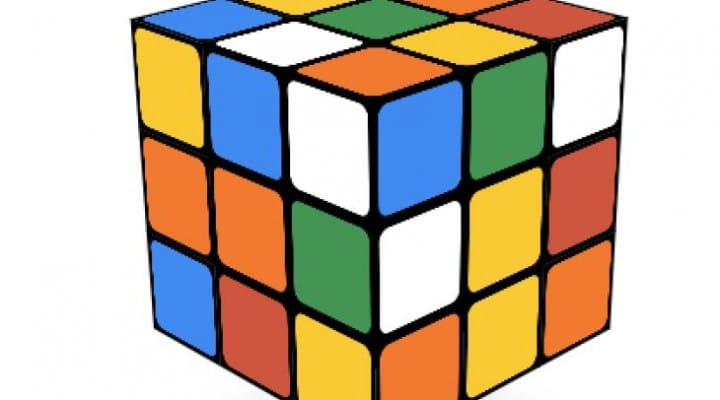 Rubik's Cube Google record live