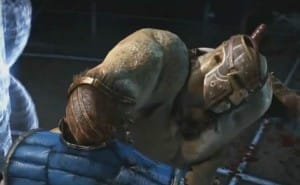 Goro Mortal Kombat X gameplay with fatality 1 and 2
