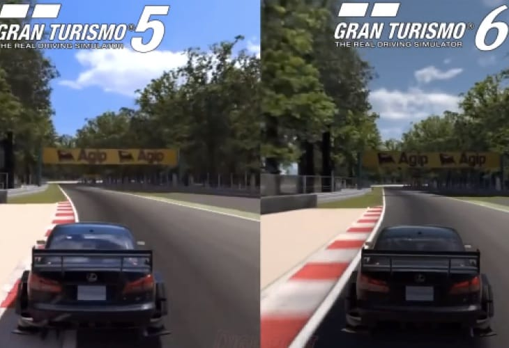 gran turismo 6 vs gt5 ps3 graphics are worse product reviews net. Black Bedroom Furniture Sets. Home Design Ideas
