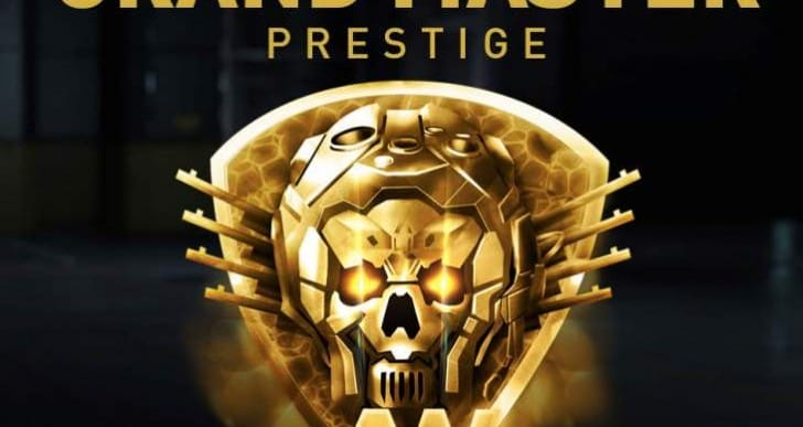 Advanced Warfare Grand Master Prestige loot weapons list