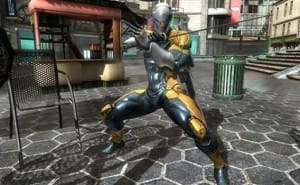 Metal Gear Rising Gray Fox DLC bonus for Europe