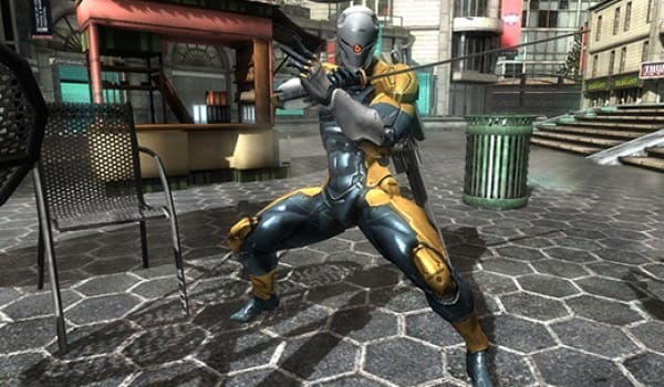 Metal Gear Rising Gray Fox DLC bonus for Europe