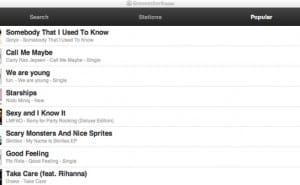 Grooveshark on iPhone until ISPs block