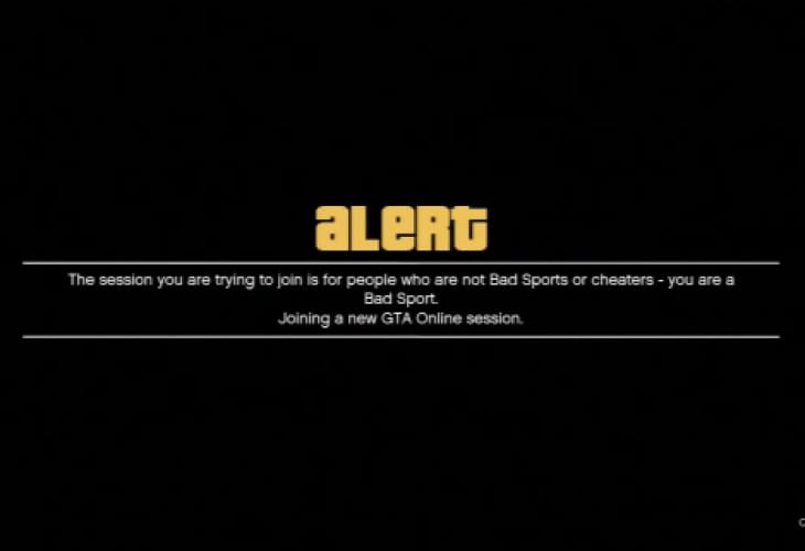 GTA V 1.05 patch minus Bad Sport fix