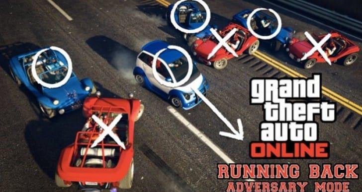 GTA V Online Thanksgiving Day update for Running Mode