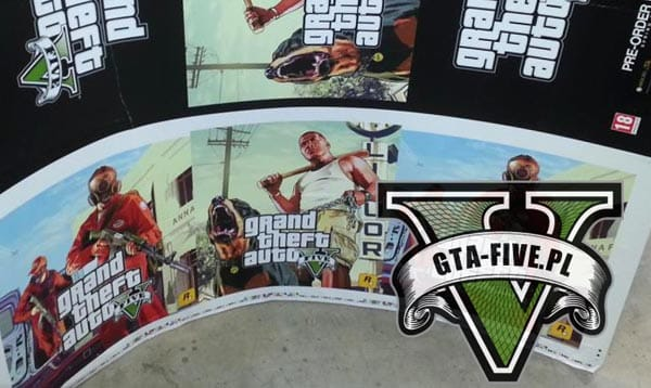 GTA V pre-order now print exposed