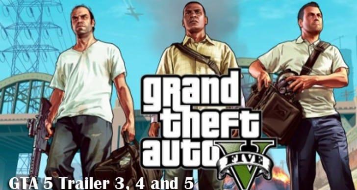 Next GTA V trailer will be 3 videos