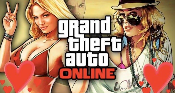 GTA 5 1.17, 1.33 Online DLC update for Valentine's Day 2016