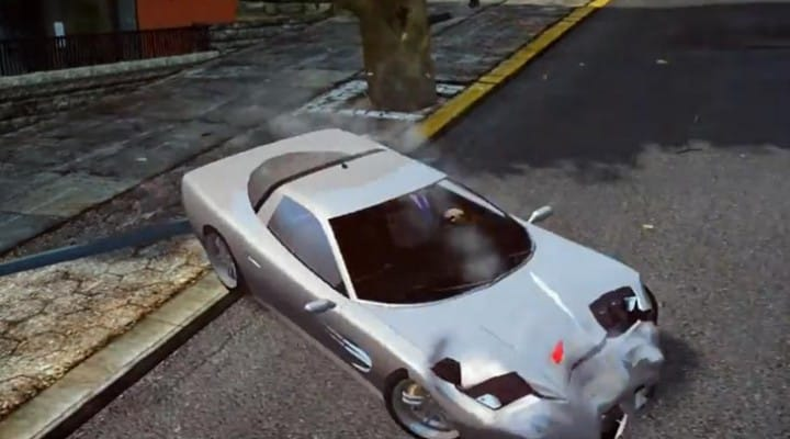 Watch Dogs vs. GTA V driving, IV car damage