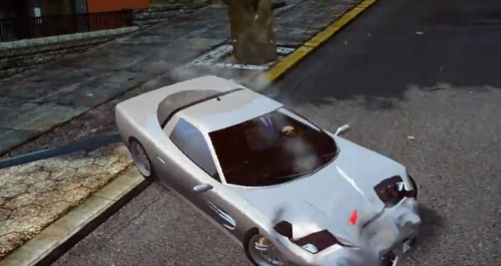 Watch Dogs vs. GTA V driving, IV car damage