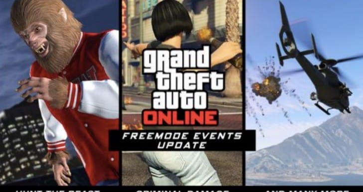 GTA Online Freemode events not for PS3, Xbox 360