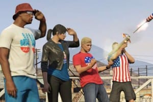 GTA V July 2015 update for Independence Day
