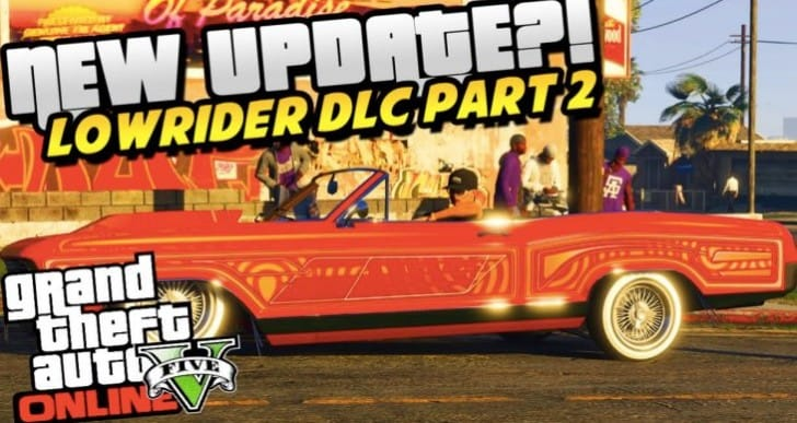 GTA 5 Christmas DLC update with Lowriders 2