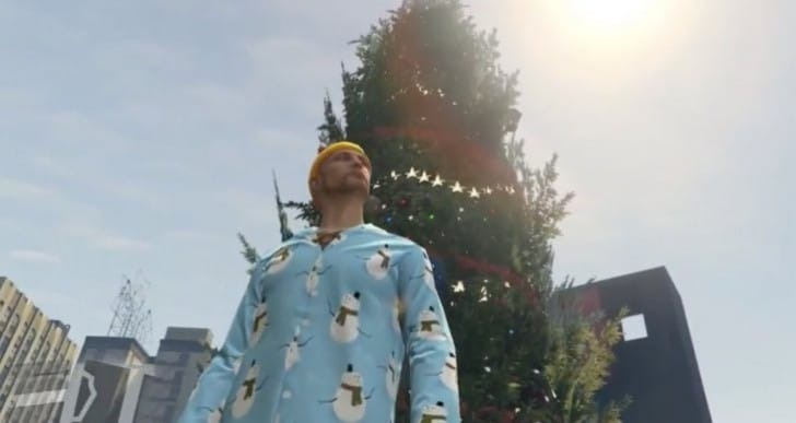 GTA Online Festive update with time for Snow
