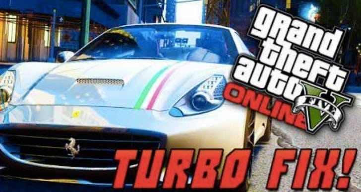 New GTA V update for broken Turbo cars fix