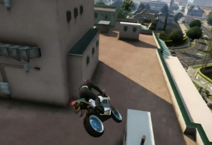 GTA V best stunt jumps clip gains Rockstar praise