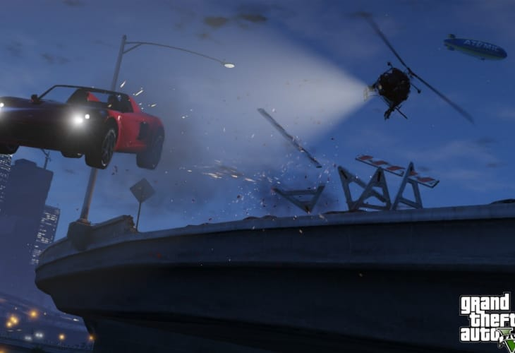 New GTA V eye candy reveals blimp