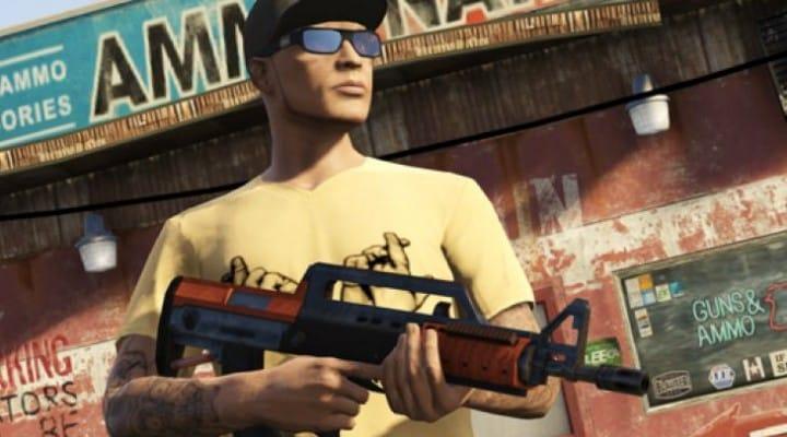GTA V Bullpup Rifle insight