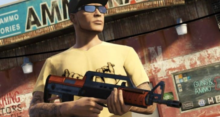 GTA V Bullpup Rifle insight