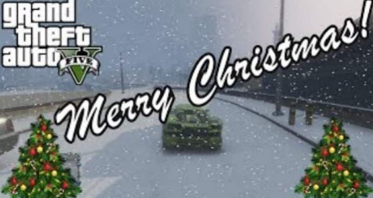 GTA V Christmas DLC update with Snow, Cops and Crooks