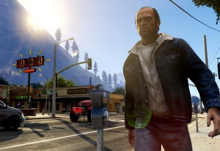 GTA V digital version with download warning