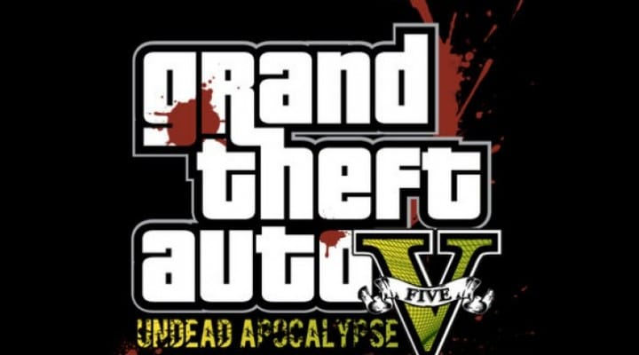 GTA V DLC combining alien and zombies