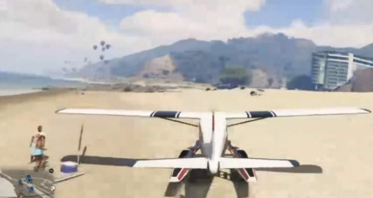 GTA V Mammoth Dodo Seaplane in first person is weird
