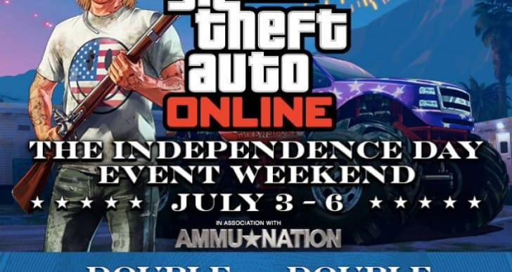 GTA V Double RP and Cash for Independence Day