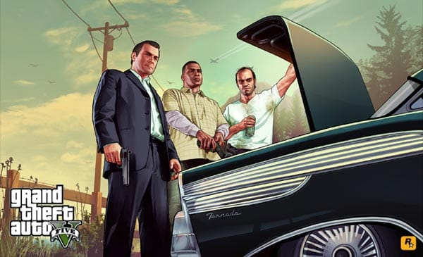GTA V box cover incoming, new art arrives