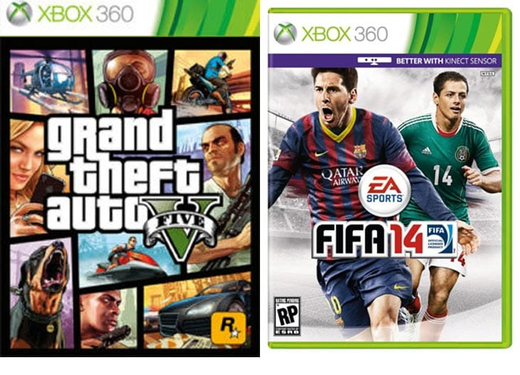 FIFA 14 continues UK domination, GTA V falls