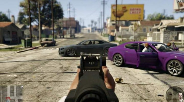 GTA V PS4 stream with leaked gameplay