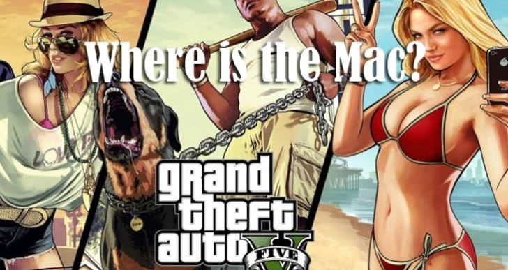 GTA V desired on Mac after PC news