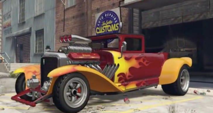 GTA V Lurcher, Franken Stange Halloween DLC gameplay