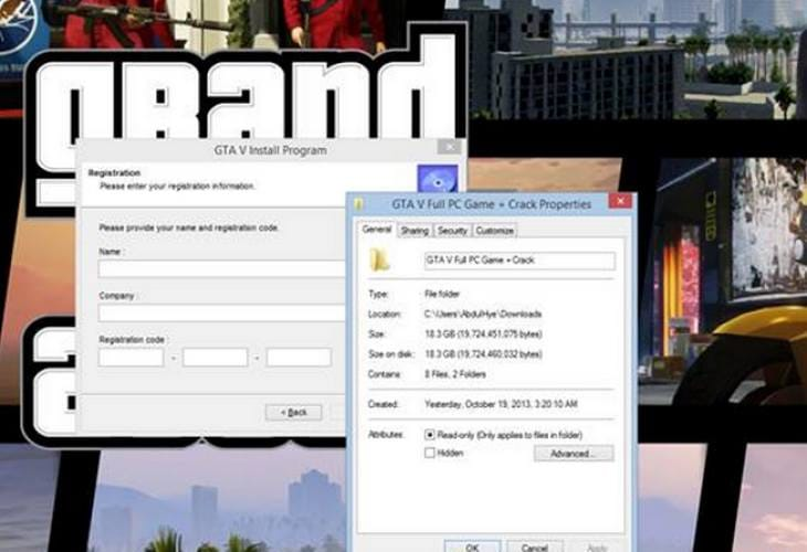 GTA 5 Full PC Game download is a trap