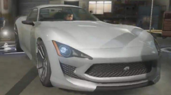 GTA V Lampadati Furore GT Vs Jaguar, Maserati