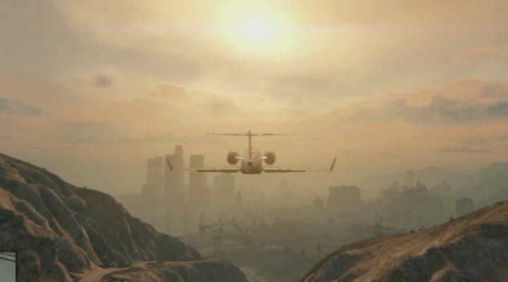 GTA V gameplay was on PS3 hardware