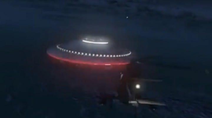 GTA V Alien DLC after Hangar 13