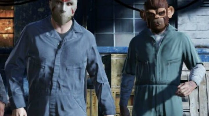 GTA V Online Heists with 20 players