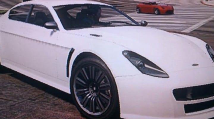 GTA V Heists getaway car