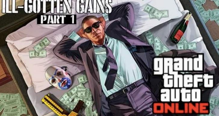 GTA V ill Gotten Gains DLC release time with 1.11 update