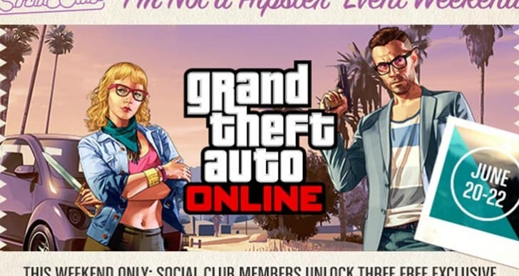 GTA Online double RP Hipster event weekend