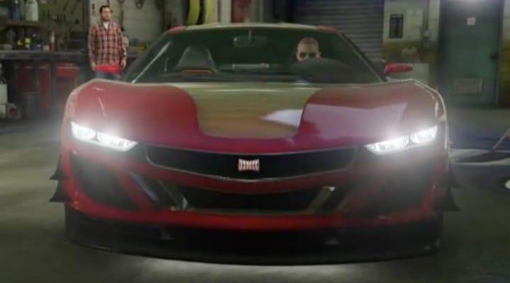 Best GTA V Iron Man car mod on PS4