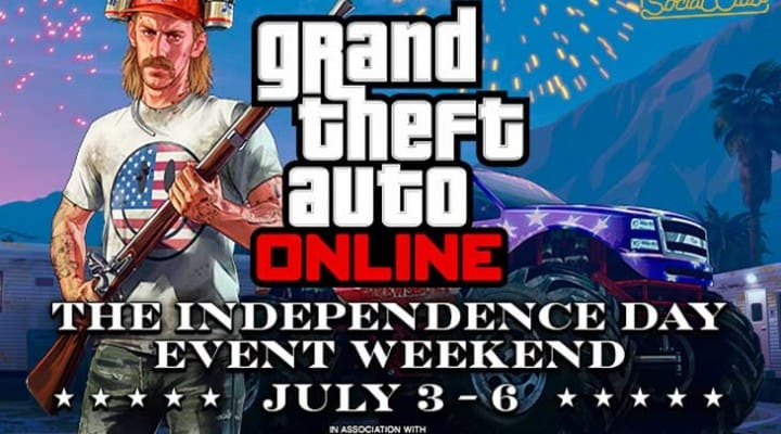 GTA V Online 4th of July event playlist