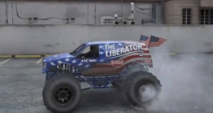 GTA V Monster Truck Liberator location and price