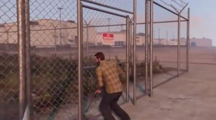 The GTA V door that won't open