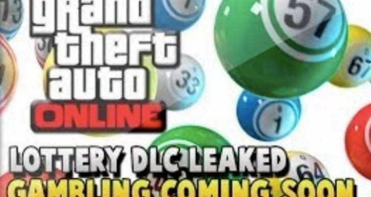 GTA V Lottery DLC for free money