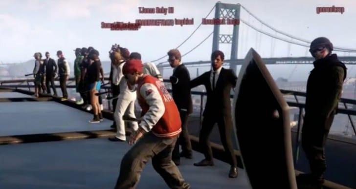 Epic GTA V Online Machete battle gameplay