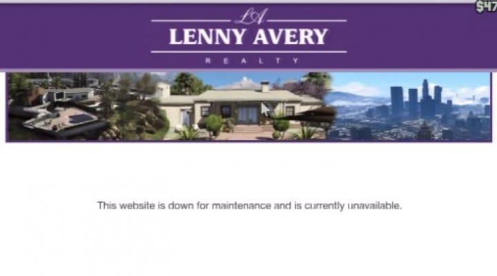GTA V DLC with Lenny Avery Mansions hype