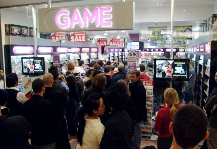 GTA V midnight UK release at ASDA, GAME, Tesco